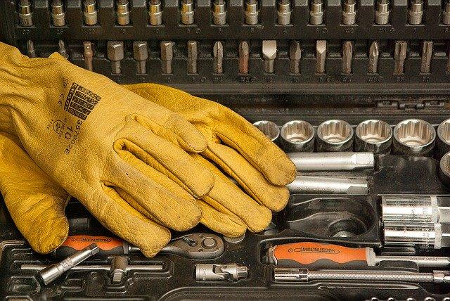 Wytrzymałe rękawice dla pracowników